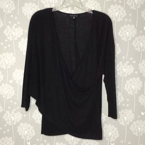 Eloquii Top Size 18/20 Black Kelsey Sweater